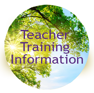 Teacher Training information